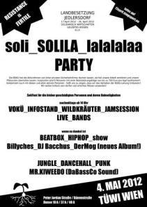 SoliLa TÜWI Party 4-MAY-2012